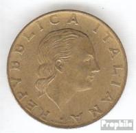 Italien KM-Nr. : 151 1992 Sehr Schön Aluminium-Bronze Sehr Schön 1992 200 Lire Briefmarkenausstellung - 1946-…: Republik