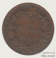 Italien KM-Nr. : 3 1861 N Sehr Schön Kupfer Sehr Schön 1861 5 Centesimi Vittorio Emanuele II. - 1861-1946: Königreich