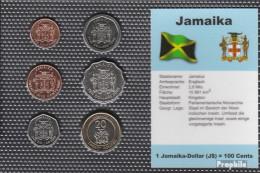 Jamaica Stgl./unzirkuliert Kursmünzen Stgl./unzirkuliert 1995-2000 10 Cents Bis 20 Dollar - Jamaique