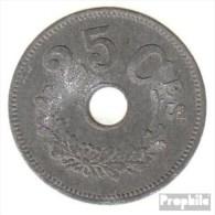 Luxemburg KM-Nr. : 29 1916 Sehr Schön Zink Sehr Schön 1916 25 Centimes Kreis Um Loch - Luxemburg