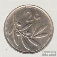 Malta KM-Nr. : 79 1986 Sehr Schön Kupfer-Nickel Sehr Schön 1986 2 Cent Emblem - Malta