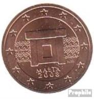 Malta M 2 2008 Stgl./unzirkuliert Stgl./unzirkuliert 2008 2 Cent Kursmünze - Malta