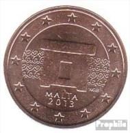 Malta M 2 2013 Stgl./unzirkuliert Stgl./unzirkuliert 2013 2 Cent Kursmünze - Malta