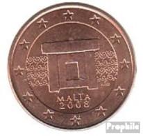Malta M 3 2008 Stgl./unzirkuliert Stgl./unzirkuliert 2008 5 Cent Kursmünze - Malta