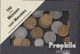 Marokko 100 Gramm Münzkiloware - Coins & Banknotes