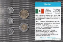 Mexiko Stgl./unzirkuliert Kursmünzen Stgl./unzirkuliert 2002-2009 5 Centavos Bis1 Peso - Mexiko