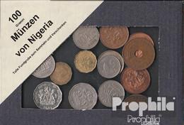 Nigeria 100 Gramm Münzkiloware - Münzen & Banknoten