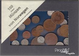 Norwegen 100 Gramm Münzkiloware - Münzen & Banknoten