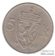 Norwegen KM-Nr. : 412 1972 Sehr Schön Kupfer-Nickel Sehr Schön 1972 5 Kroner Olav V. - Norwegen