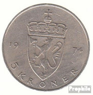 Norwegen KM-Nr. : 420 1982 Sehr Schön Kupfer-Nickel Sehr Schön 1982 5 Kroner Olav V. - Norwegen