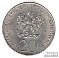 Polen KM-Nr. : 75 1975 Vorzüglich Kupfer-Nickel Vorzüglich 1975 20 Zlotych Jahr Der Frau - Polen