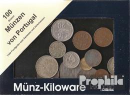 Portugal 100 Gramm Münzkiloware - Kilowaar - Munten