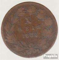 Portugal KM-Nr. : 526 1883 Vorzüglich Bronze Vorzüglich 1883 10 Reis Luiz I. - Portugal