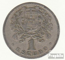 Portugal KM-Nr. : 578 1927 Sehr Schön Kupfer-Nickel Sehr Schön 1927 1 Escudo Liberty - Portugal