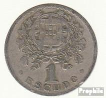 Portugal KM-Nr. : 578 1928 Sehr Schön Kupfer-Nickel Sehr Schön 1928 1 Escudo Liberty - Portugal