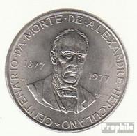 Portugal KM-Nr. : 608 1977 Stgl./unzirkuliert Kupfer-Nickel Stgl./unzirkuliert 1977 25 Escudos Herculano - Portugal