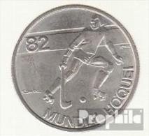 Portugal KM-Nr. : 613 1982 Vorzüglich Kupfer-Nickel Vorzüglich 1982 2-1/2 Escudos Hockey - Portugal