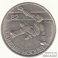 Portugal KM-Nr. : 616 1982 Vorzüglich Kupfer-Nickel Vorzüglich 1982 25 Escudos Hockey - Portugal