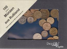 Russland 100 Gramm Münzkiloware  Rußland Ohne Sowjetunion - Münzen & Banknoten