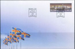 PA1498 Aland 2004 Activity Center Building First-day Cover MNH - Aland