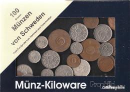 Schweden 100 Gramm Münzkiloware - Münzen & Banknoten