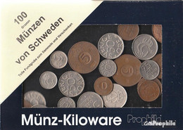 Schweden 100 Gramm Münzkiloware - Kiloware - Münzen