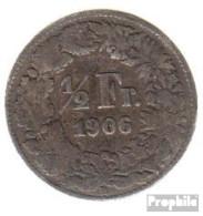 Schweiz KM-Nr. : 23 1921 Sehr Schön Silber Sehr Schön 1921 1/2 Franc Helvetia - Schweiz