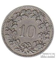 Schweiz KM-Nr. : 27 1903 Sehr Schön Kupfer-Nickel Sehr Schön 1903 10 Rappen Libertas - Schweiz