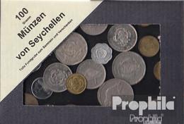 Seychellen 100 Gramm Münzkiloware - Kilowaar - Munten