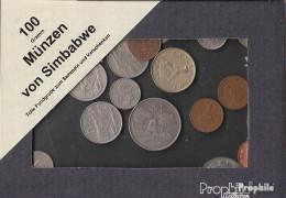 Simbabwe 100 Gramm Münzkiloware - Münzen & Banknoten