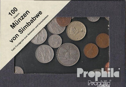 Simbabwe 100 Gramm Münzkiloware - Coins & Banknotes