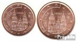 Spanien E2 - 3 1999 Stgl./unzirkuliert Stgl./unzirkuliert 1999 Kursmünze 2 Und 5 Cent - Spain