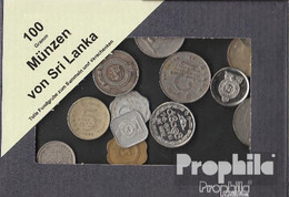 Sri Lanka 100 Gramm Münzkiloware - Kiloware - Münzen