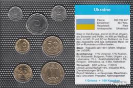 Ukraine Stgl./unzirkuliert Kursmünzen Stgl./unzirkuliert 2006-2009 1 Kopeke Bis 1 Griwna - Ukraine