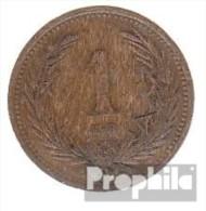 Ungarn KM-Nr. : 480 1896 Vorzüglich Bronze Vorzüglich 1896 1 Filler Krone - Ungarn