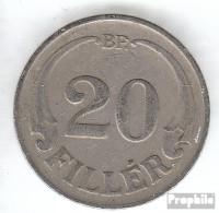 Ungarn KM-Nr. : 508 1926 Stgl./unzirkuliert Kupfer-Nickel Stgl./unzirkuliert 1926 20 Filler Krone - Ungarn