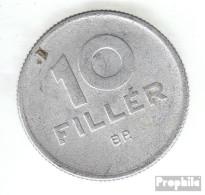 Ungarn KM-Nr. : 547 1965 Sehr Schön Aluminium Sehr Schön 1965 10 Filler Taube - Ungarn