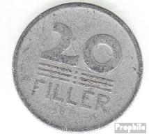 Ungarn KM-Nr. : 550 1957 Sehr Schön Aluminium Sehr Schön 1957 20 Filler Weizenähren - Ungarn