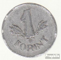 Ungarn KM-Nr. : 555 1965 Sehr Schön Aluminium Sehr Schön 1965 1 Forint Wappen - Ungarn