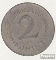 Ungarn KM-Nr. : 556 1963 Sehr Schön Kupfer-Nickel-Zink Sehr Schön 1963 2 Forint Wappen - Ungarn