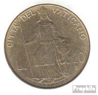 Vatikanstadt KM-Nr. : 144 1980 Stgl./unzirkuliert Aluminium-Bronze Stgl./unzirkuliert 1980 20 Lire Johannes Paul II. - Vatikan