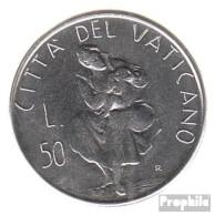 Vatikanstadt KM-Nr. : 163 1982 Stgl./unzirkuliert Stahl Stgl./unzirkuliert 1982 50 Lire Mutterschaft - Vatikan