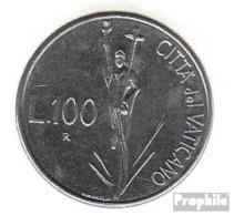 Vatikanstadt KM-Nr. : 231 1991 Stgl./unzirkuliert Stahl Stgl./unzirkuliert 1991 100 Lire Christus - Vatikan