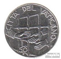 Vatikanstadt KM-Nr. : 254 1994 Stgl./unzirkuliert Stahl Stgl./unzirkuliert 1994 50 Lire Gefängnis - Vatikan