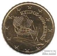 Zypern Z 4 2008 Stgl./unzirkuliert Stgl./unzirkuliert 2008 10 Cent Kursmünze - Cyprus