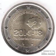 Belgien 2014 Stgl./unzirkuliert Auflage: 1,75 Mio. Stgl./unzirkuliert 2014 2 Euro 100 J. Beginn 1. Weltkrieg - Belgium