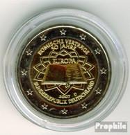 BRD (BR.Deutschland) Jägernr: 528 2007 D Stgl./unzirkuliert Stgl./unzirkuliert 2007 2 Euro Römische Verträge - Germany