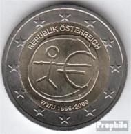 Österreich 2009 Stgl./unzirkuliert Stgl./unzirkuliert 2009 2 Euro E.M.U. - 10 Jahre Währungs - Austria