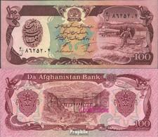 Afghanistan Pick-Nr: 58c Bankfrisch 1991 100 Afghanis - Afghanistan