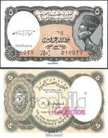 Ägypten Pick-Nr: 185 Bankfrisch 1997 5 Piastres - Aegypten